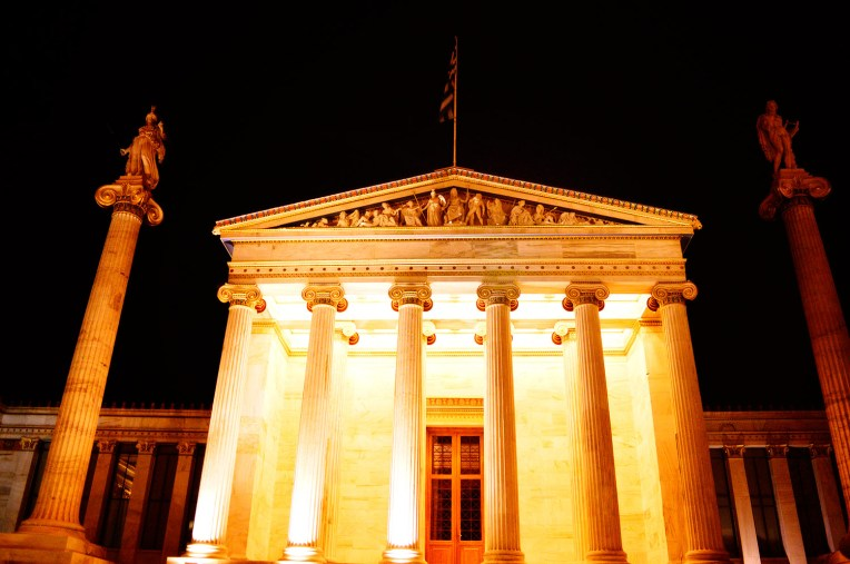 Beauty of Athens at night [City Photography]_008